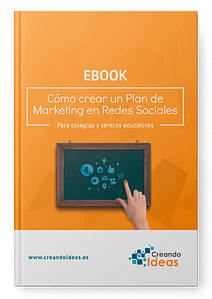 Portada Ebook cómo crear un plan de marketing en redes sociales para un colegio