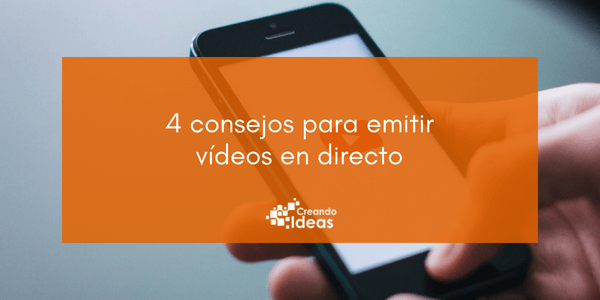 Vídeos en directo en las redes sociales