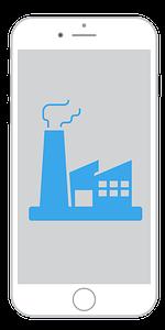 Página web para empresas industriales para móviles