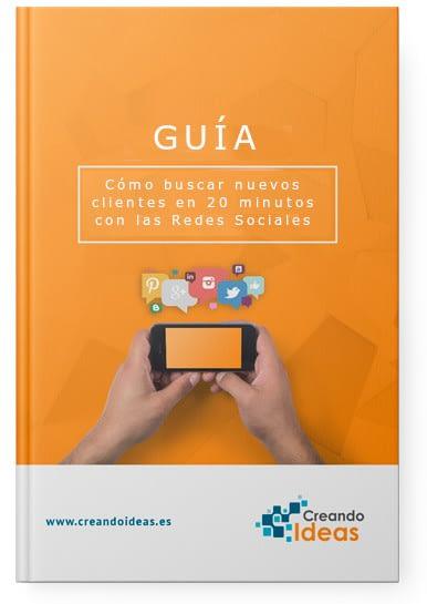 portada guía buscar cliente potenciales en las redes sociales