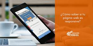 Página web responsive blog