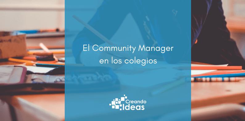 Community Manager en los colegios