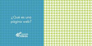 qué es una página web