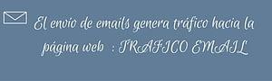 Tráfico web atraer visitas página web email
