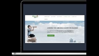 Trabajos realizados por la Agencia de Marketing Educativo Página web para colegios