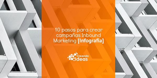 10 pasos para crear campañas Inbound Marketing [Infografía]