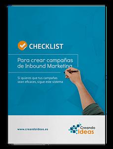 Checklist: Para crear campañas de Inbound Marketing