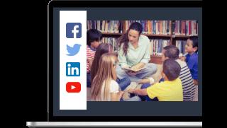 Redes Sociales para colegios